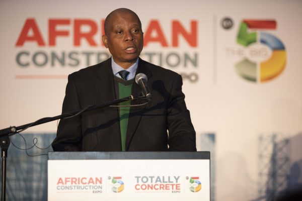 Executive Mayor Herman Mashaba at the African Construction and Totally Concrete Expo 2018 (00000002)