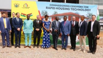 Ghana to construct 10000 affordable housing units
