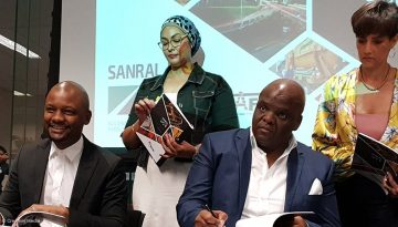 Sanral Nafbi sign MoU to develop small contractors accelerate BEE implementation