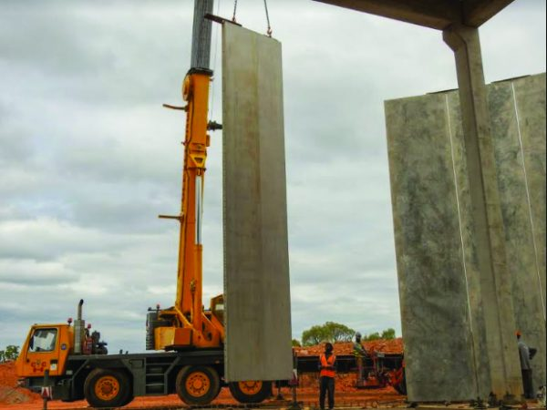 New precast concrete wall system accelerates water delivery