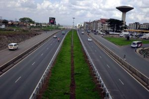 Construction of Outer ring Thika