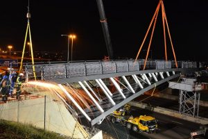 N1 HIGHWAY PEDESTRIAN BRIDGE TO BE READY FOR USE SOON
