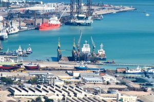 US $3.5M DRY PORT FACILITY AT WALVIS BAY NAMIBIA COMPLETE