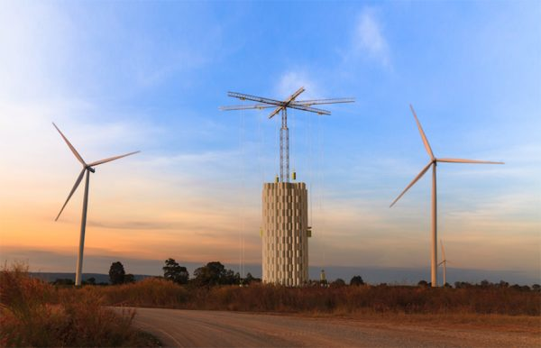 CEMEX INVESTS IN COMPANY THAT STORES ENERGY IN CONCRETE TOWERS