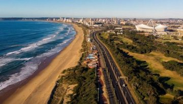 DURBAN PROMENADE EXTENSION NEARING COMPLETION