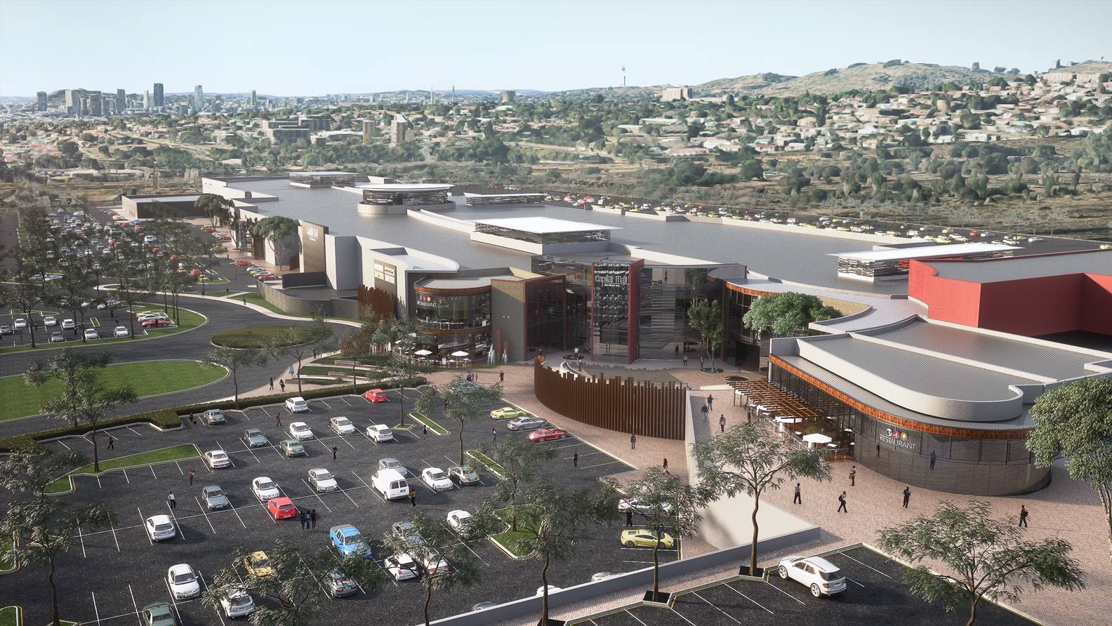 SOUTH AFRICAS US $83M CAPITAL MALL DEVELOPMENT RECEIVES GREENLIGHT