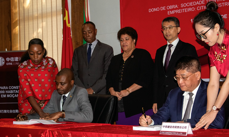 35,000 HOUSES TO BE BUILT BY CHINESE IN MOZAMBIQUE