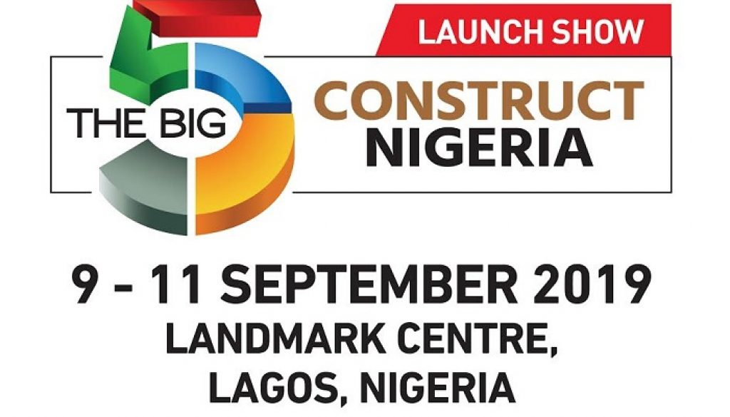 Big 5 Construct Nigeria to Feature Building Innovation