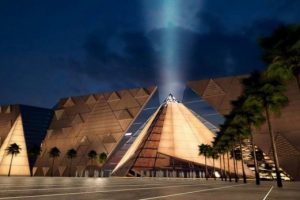 CONSTRUCTION OF GRAND EGYPTIAN MUSEUM 90% COMPLETE
