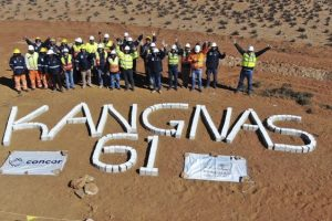 FIRST TURBINE AT KANGNAS WIND FARM ERECTED AHEAD OF SCHEDULE