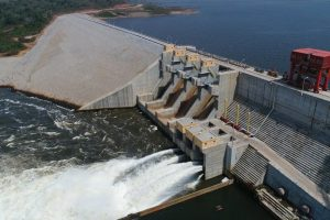 CONSTRUCTION OF CAMEROONS NACHTIGAL HYDROELECTRIC DAM ON COURSE (00000003)
