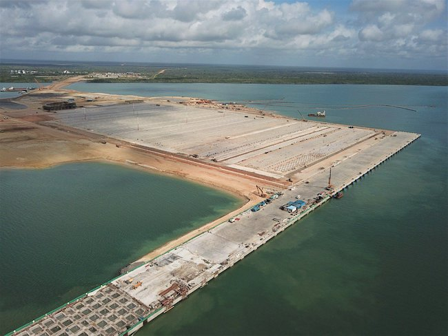 LCDA ANNOUNCES COMPLETION OF LAPSSETS FIRST BERTH AT LAMU PORT