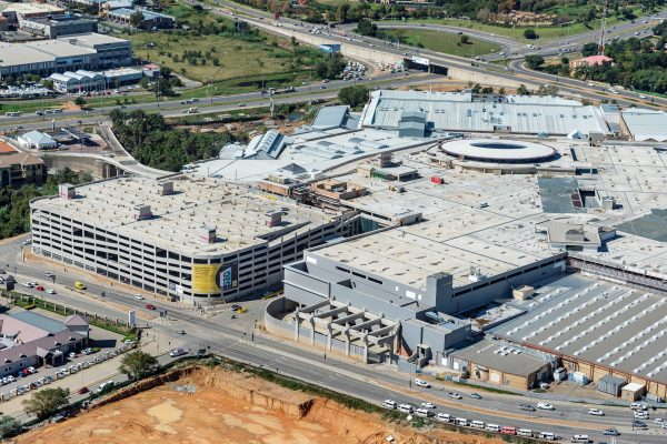 PEIKKO CONNECTS PARKADE AT AFRICAS LARGEST SHOPPING MALL