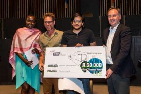 WITS STUDENT FROM LENASIA BAGS AFRISAM STUDENT DESIGN CHALLENGE
