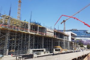 CONCOR BUILDINGS CONSTRUCTING OXFORD PARKS PHASE 1 2