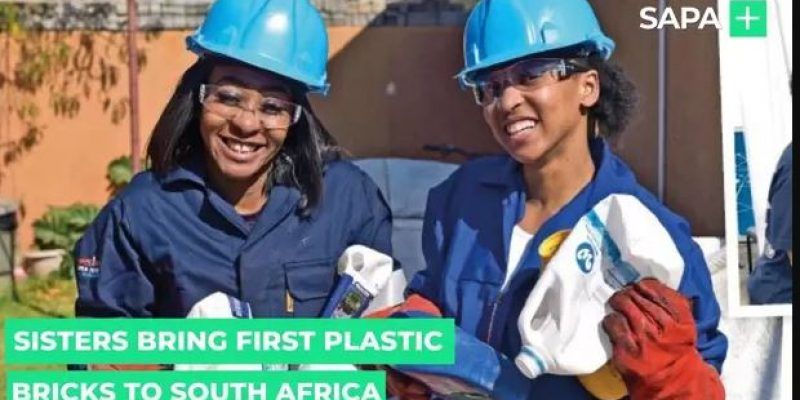 Sisters who brought plastic bricks