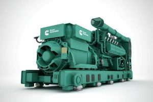 Cummins recently launched the HSK78G natural gas generator series