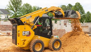 Caterpillar rolls out new D3 series skid steer and compact track loaders