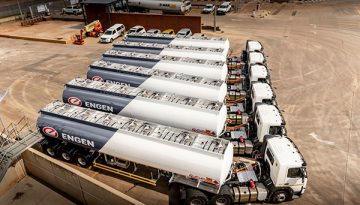 Engen stays ahead of the game with new transport fleet