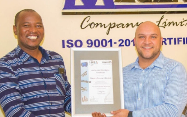 Bosch Rexroth South Africa appoints first distributor in Tanzania