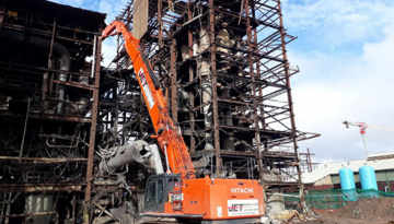 Jet Demolition makes light work of technically-demanding projects