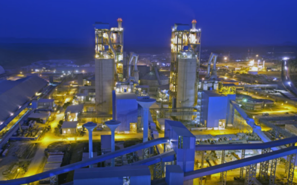 Largest cement plant in Africa