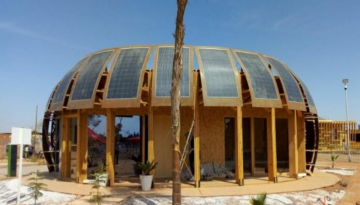 Construction of an eco-building that combines hemp and solar technology completed in Morocco