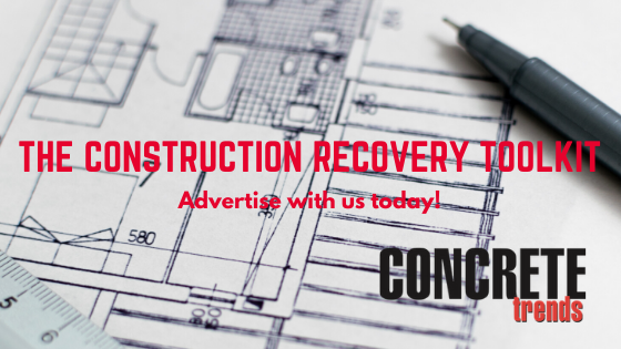Concrete Trends' more than 20 000 readers will get there guidance, products and services from The Construction Recovery Toolkit published in edition 2 , this coming June.
