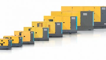 Rugged Atlas Copco QES generator range for reliable standby power requirements on mines and plants