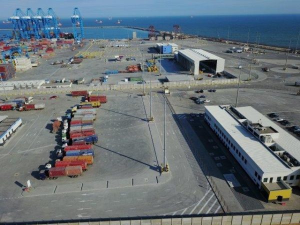 Tema Port in Ghana is a major infrastructure project in Africa that AECOM has been involved with